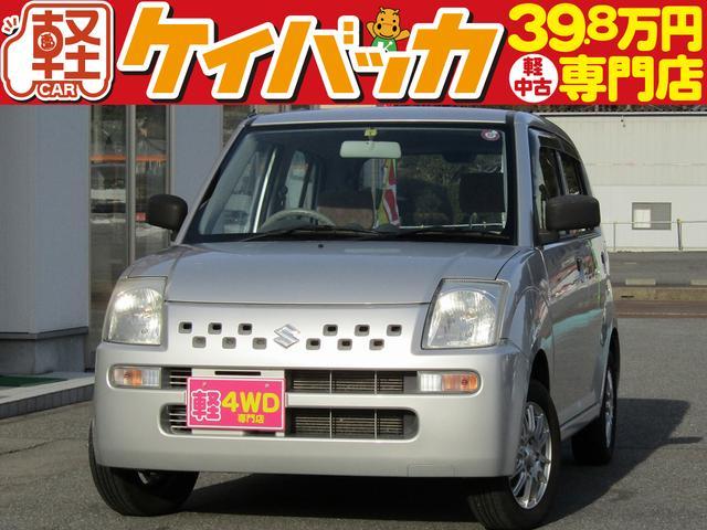 スズキ E 4WD CDデッキ 社外アルミホイール Wエアバッグ