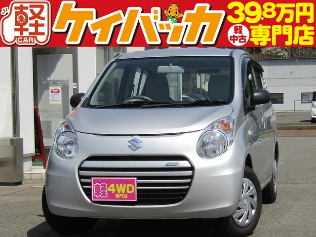 スズキ ECO-L 4WD 純正CDオーディオ シートヒーター アイドリングストップ エアバッグ