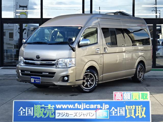トヨタ キャンピングカーアムクラフト コンパスドルク FFヒーター