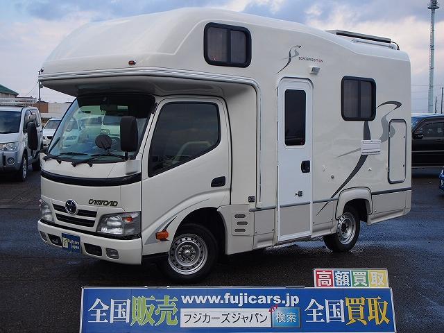 トヨタ キャンピングカー ナッツRVクレソンボーダーED FF付