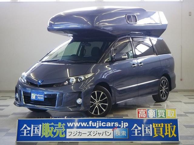 トヨタ オリジナルキャンパー ツインサブバッテリー 家庭用エアコン