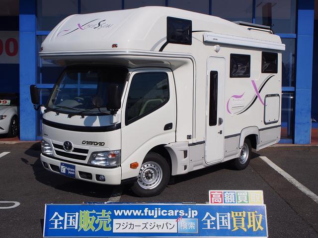 トヨタ ナッツRV クレソンX 4WD ディーゼル ソーラーパネル