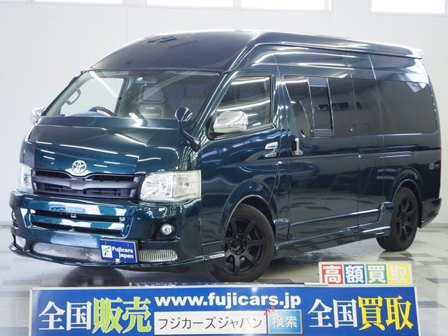 トヨタ DX 4WD 天吊モニター RECARO FASPシート