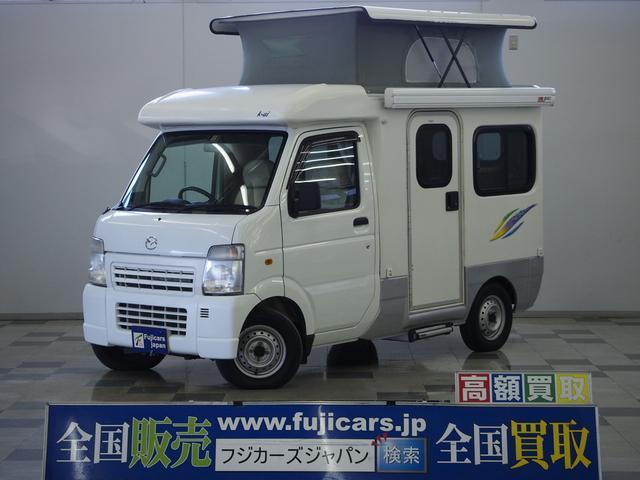 AZ-MAX K-ai ベンチタイプ 社外SDナビ 地デジ ETC リアスピーカー シンク コンロ シングルサブバッテリー 外部充電 走行充電 べバスト製FFヒーター FIAMMA製サイドオーニング