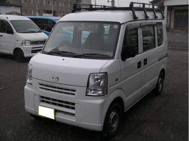 マツダ PA 4WD 5MT ルーフキャリア