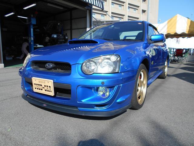 スバル WRX WR-リミテッド 2004 4WD 禁煙車 キーレス