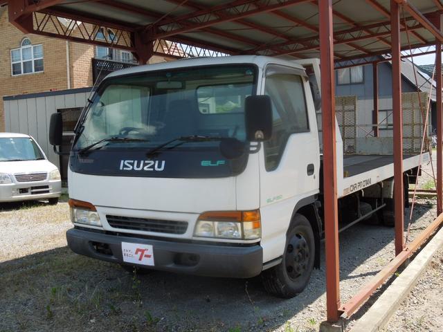 いすゞ キャリアカー ディーゼルターボ フル装備 積載車