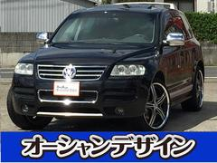 VW トゥアレグサンルーフ HDDナビ 4WD
