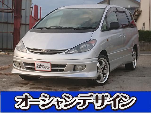 トヨタ 4WD HDDナビ ETC アルミ