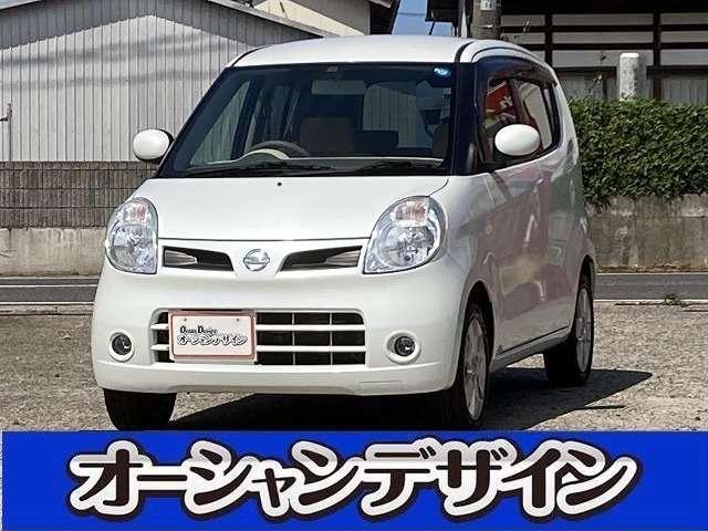日産 モコ G FOUR 4WD ターボ スマートキー アルミ