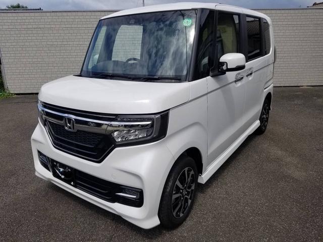ホンダ N-BOXカスタム G・Lホンダセンシング 4WD 届出済未使用車 バックカメラ