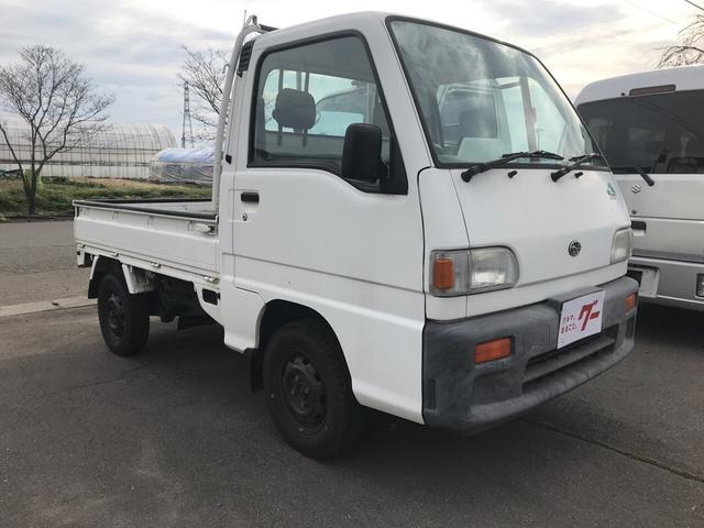 スバル JA 4WD EL付5速MT 軽トラック 走行10400km