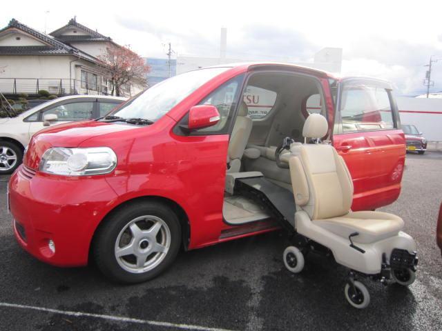 トヨタ 150r ウェルキャブ 脱着式サイドリフトアップシート