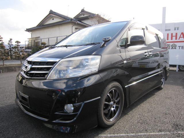 トヨタ MSプラチナエアロ キーレス HDDナビ
