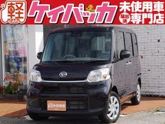 タントX SAIII 届出済未使用車 自動ブレーキ