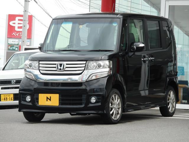 ホンダ N-BOXカスタム 2WD スマートキー HID バックカメラ 盗難防止システム