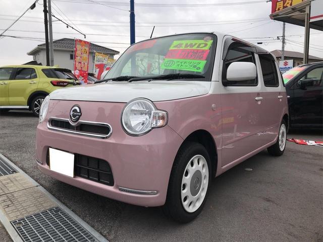 ダイハツ ココアXスペシャルコーデ 軽自動車 4WD ピンクII