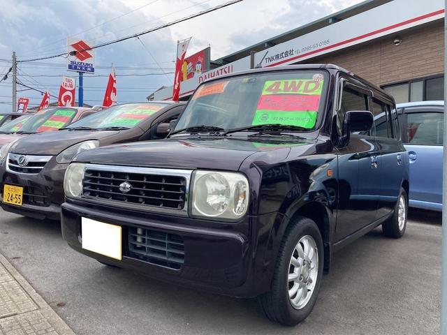 スズキ アルトラパン G 4WD キーレス アルミホイール パワーウィンドウ シートヒーター ABS パワステ 衝突安全ボディ MDCD
