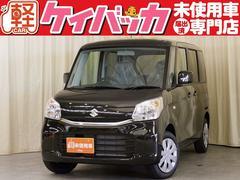 スペーシアG 4WD 届出済未使用車 前席シートヒーター