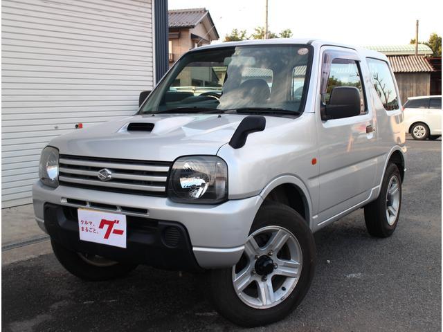 スズキ ジムニー XG 4WD ターボ 5速マニュアル 16インチアルミ