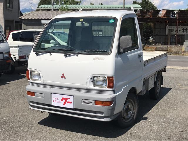 三菱 TL 4WD エアコン パワステ 5速マニュアル ラジオ