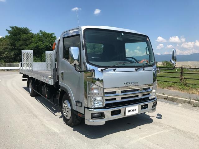 いすゞ カスタム車両積載車TADANOスーパーセルフローダー