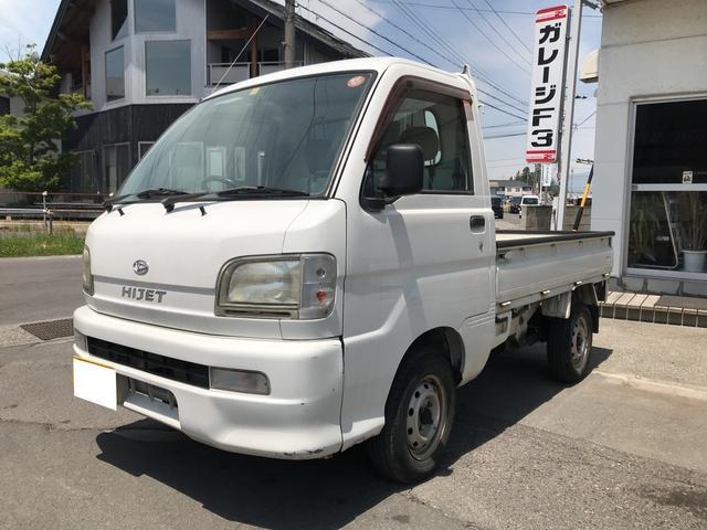 ダイハツ 4WD 5MT 軽トラック ホワイト