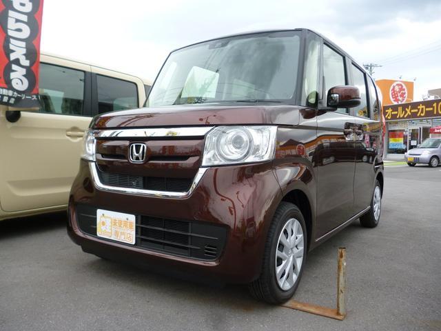 ホンダ N-BOX Gホンダセンシング 届出済未使用車 両側スライドドア