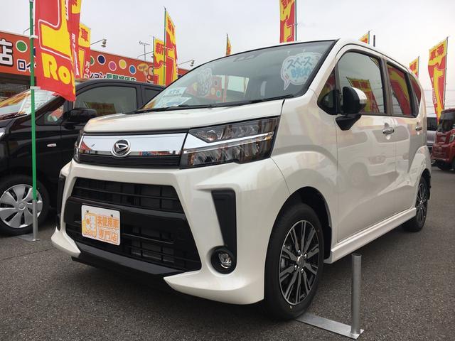 ダイハツ カスタム Xリミテッド SAIII 4WD 届出済未使用車