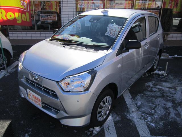 ダイハツ L SAIII 4WD スマートアシスト付 届出済未使用車