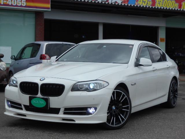 BMW 550i コンフォートパッケージ 20インチAW ナビ TV Bカメラ クルコン コンフォートアクセス シートヒーター ベンチレーションシート