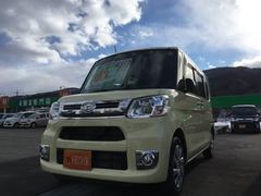 タントカスタムX SAII 4WD 純正ナビTV フリップダウン