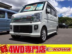 エブリイワゴンPZターボスペシャル4WD AC PS PW オーディオレス