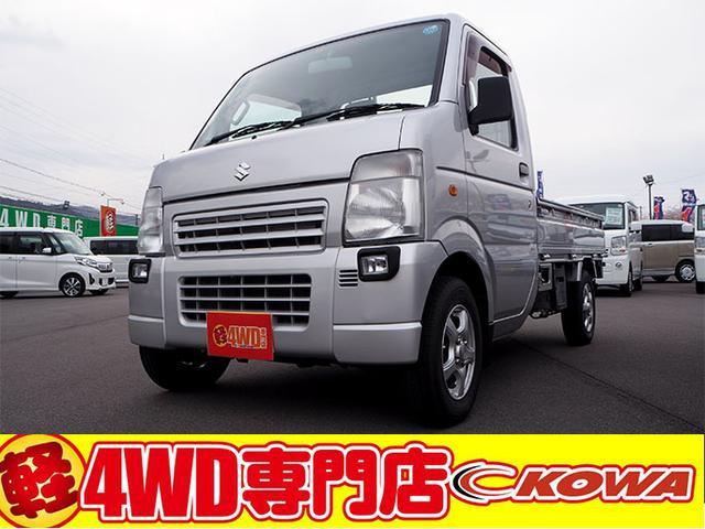 スズキ KUスペシャル 4WD エアコン パワステ 社外CD