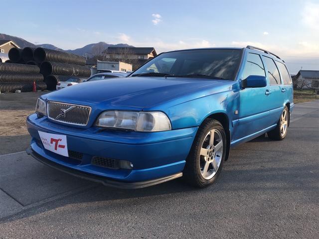 ボルボ V70 R AWD ナビ 後期5AT265PS特別限定1000台