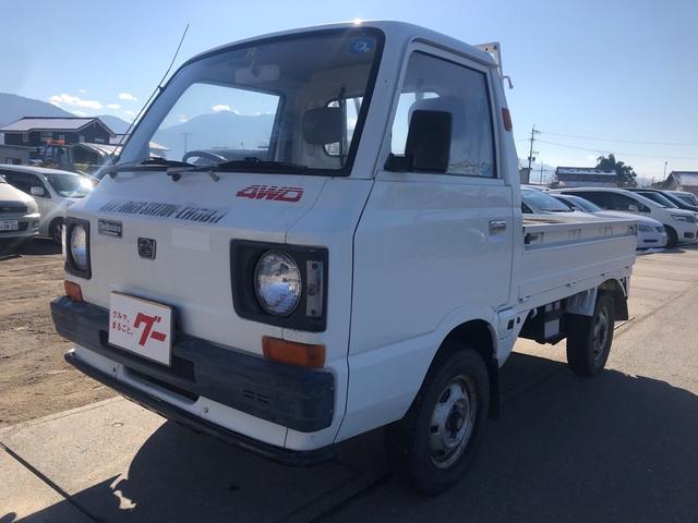 スバル サンバートラック ベースグレード 4WD 4速MT