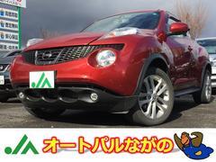 ジューク16GT FOUR 4WD 赤インテリア ナビTV マフラー