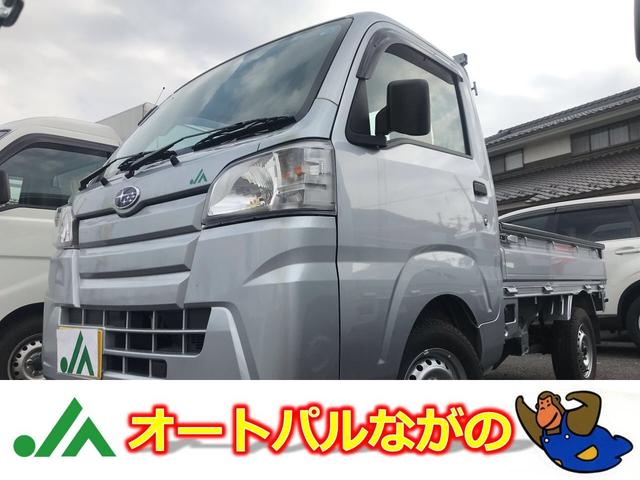 スバル JA-TC 4WD 5MT エアコン PW キーレス 1オナ