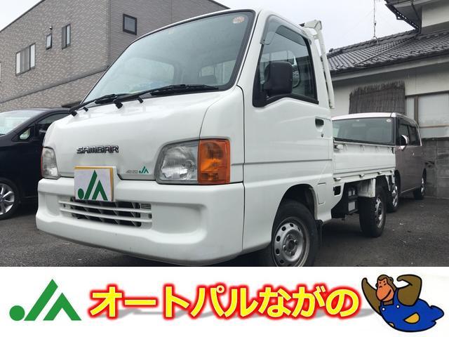 スバル JA-TC 4WD 5速MT エアコン エアバック