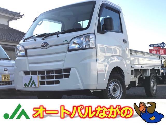 スバル JA 4WD 5MT エアコン デフロック 4枚リーフ