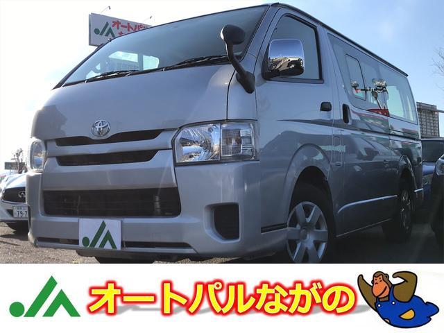 トヨタ DX 6AT ナビ 同色バンパー メッキドアミラー
