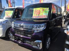 タントカスタムX SAIII 4WD 届出済未使用車
