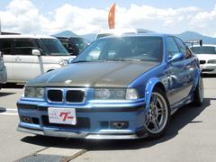 BMWM3 6速MT GTウィング 車高調 RECAROバケット
