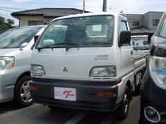 ミニキャブトラックマイティ 4WD パワステ 5速マニュアル