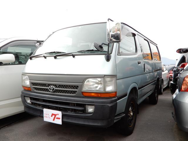 トヨタ ロングDX 4WD カスタム車 キーレス 5速マニュアル