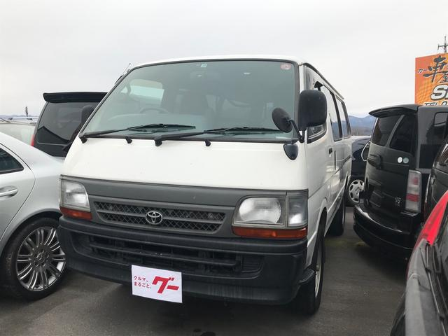 トヨタ ハイエースバン  ETC 4WD オートマ