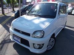 プレオRS 4WD 5MT フジツボマフラー