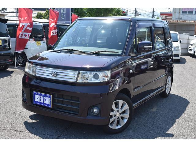 スズキ ワゴンR スティングレーT 4WD ターボ スマートキー HID ETC DVD Bluetoothオーディオ ハンズフリー シートヒーター