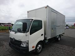 ダイナトラックアルミバン 3T  ワイドセミロング サイドドア
