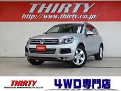 VW トゥアレグハイブリッド4WD 1オナ Pスタート ナビ TV エアサス
